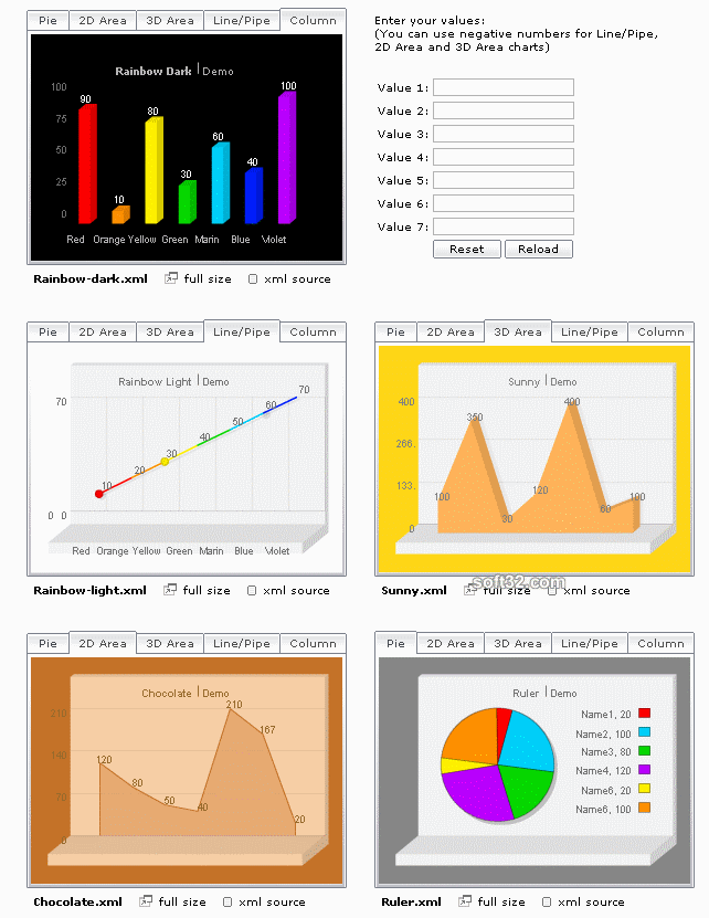 Scand FlyCharts Screenshot