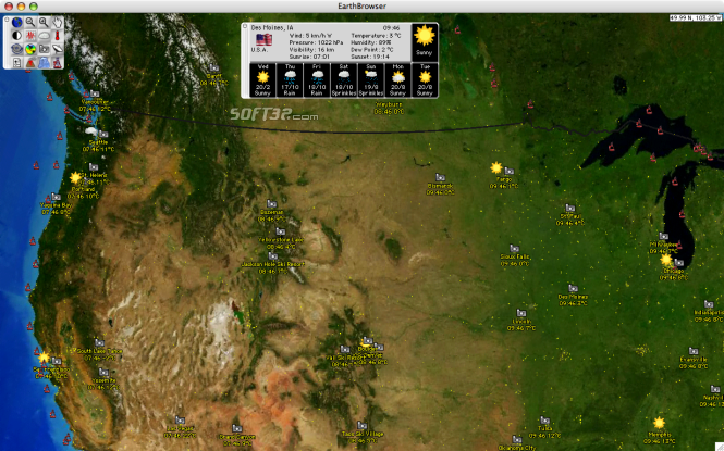 EarthBrowser Screenshot 2