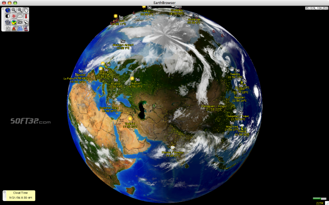 EarthBrowser Screenshot 3
