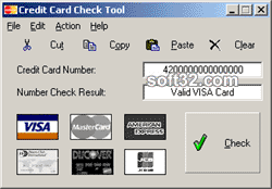 Credit Card Check Tool Screenshot 3