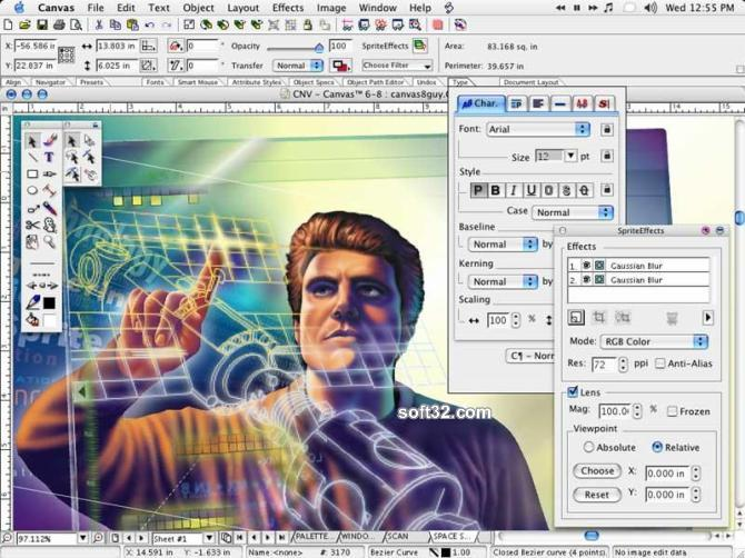 Canvas Professional Edition (Mac) Screenshot 2