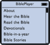 BiblePlayer for iPod 1