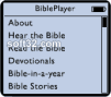 BiblePlayer for iPod 3
