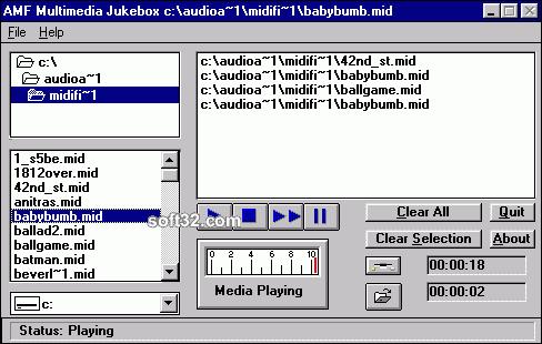 AMF Multimedia Jukebox Screenshot 1