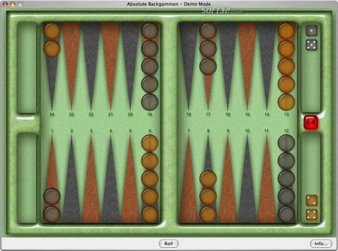 Absolute Backgammon Screenshot 4