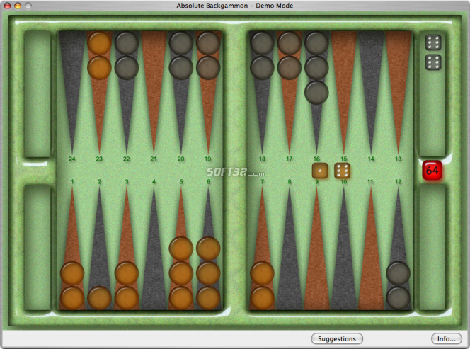 Absolute Backgammon Screenshot 5