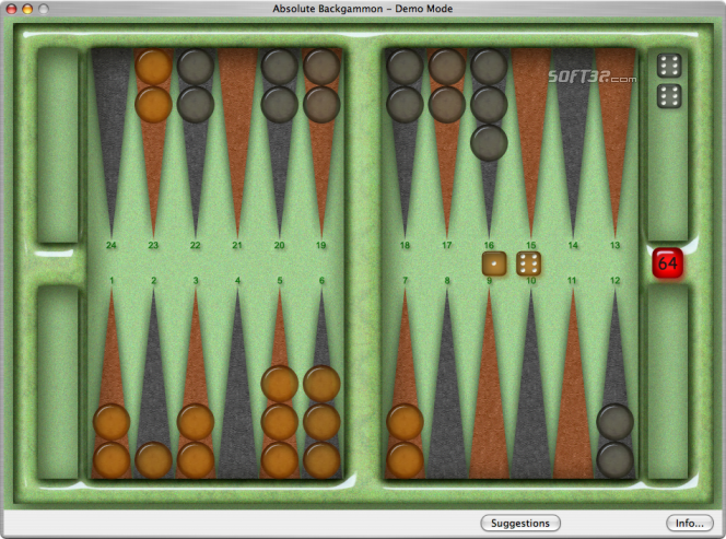 Absolute Backgammon Screenshot 6