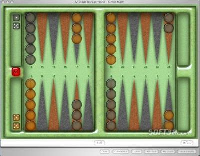 Absolute Backgammon Screenshot 2