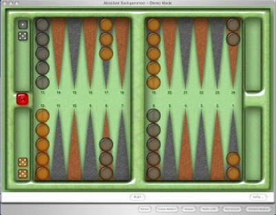 Absolute Backgammon Screenshot 1