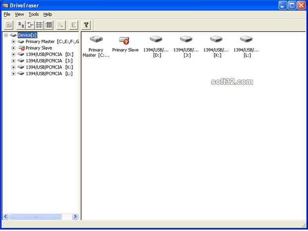 CompuApps DriveEraser Screenshot 2