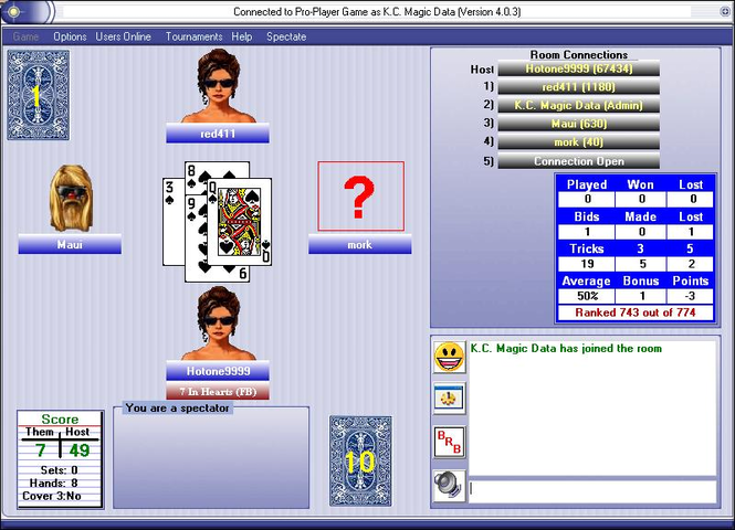 Kaiser Network Screenshot