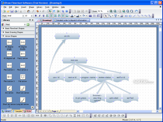 Edraw Flowchart Software Screenshot 3