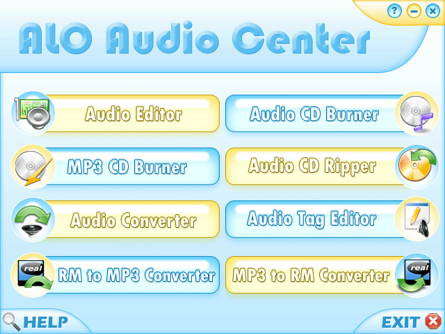 ALO Audio Center Screenshot
