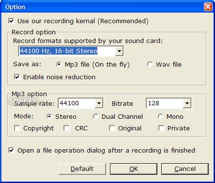 Perfect Sound Recorder Screenshot 3