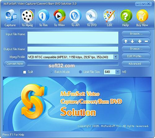 McFunSoft Video Solution Screenshot 2