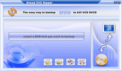 Ahead DVD Ripper Screenshot 1