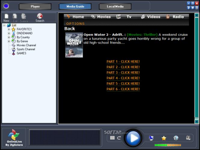 OnLine TV Live Screenshot 2