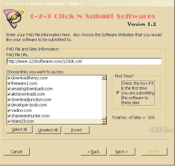 123 Click n Submit Softwares Screenshot 2