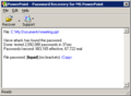 Powerpoint Password Recovery Key 1
