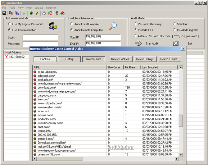 SpotAuditor Screenshot 4
