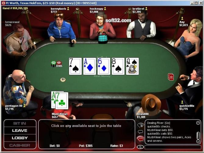 PokerRoom Screenshot