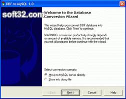 DBF-to-MySQL Screenshot 3