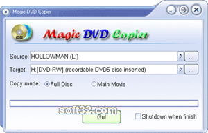 Magic DVD Copier Screenshot 3