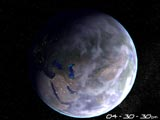 Home Planet Earth 3D Screensaver Screenshot 1