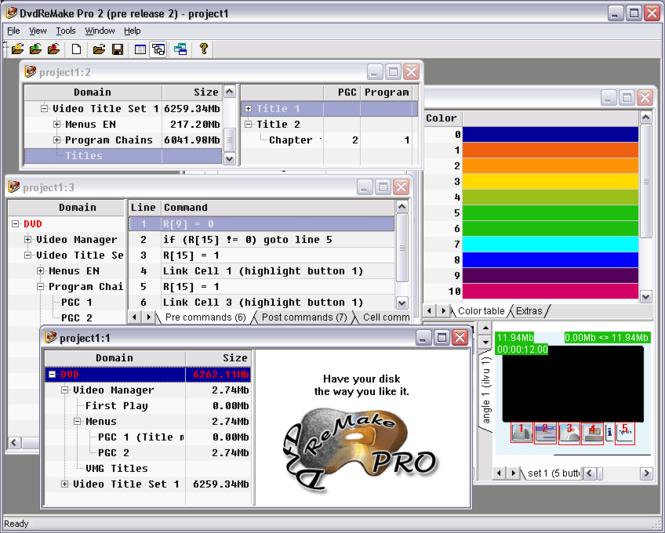 DvdReMake Pro Screenshot