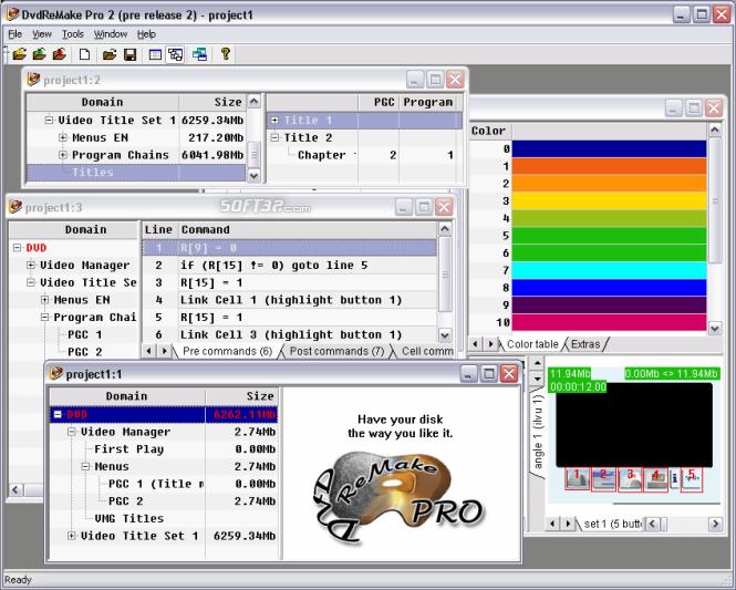 DvdReMake Pro Screenshot 3