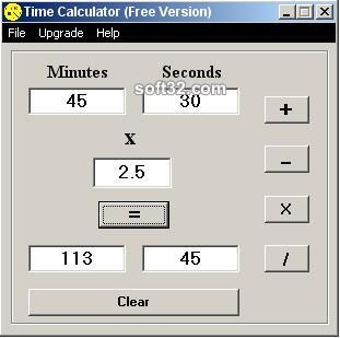 Time Calculator Screenshot