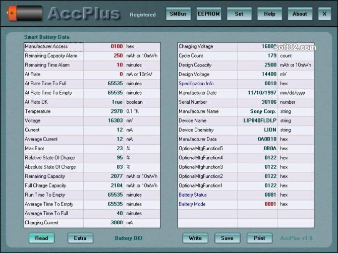 AccPlus Screenshot