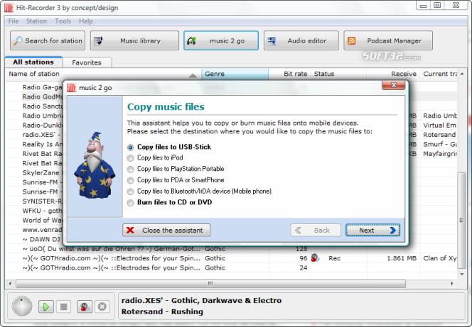 Hit-Recorder Screenshot 5