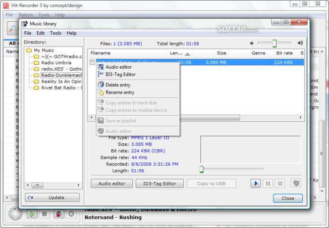 Hit-Recorder Screenshot 6