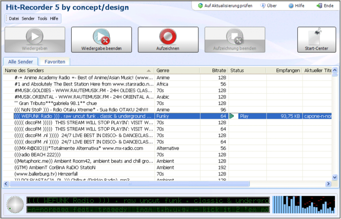 Hit-Recorder Screenshot