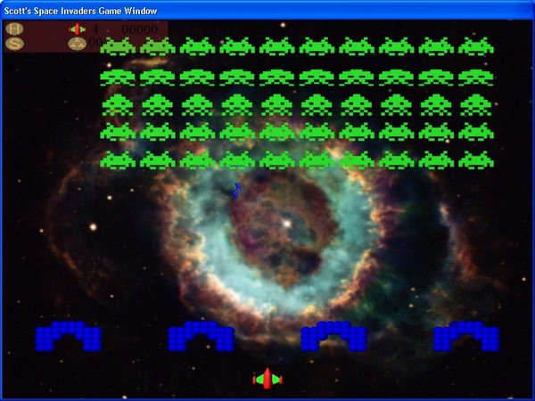 Scott's Space Invaders Screenshot 1