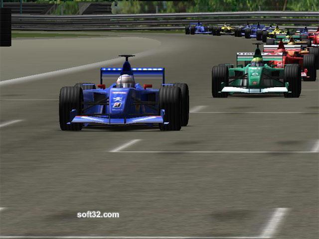 3D Formula 1 Screensaver Screenshot 3