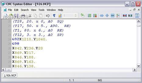 CNC Syntax Editor Screenshot 3