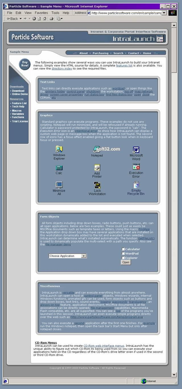 IntraLaunch Screenshot 2