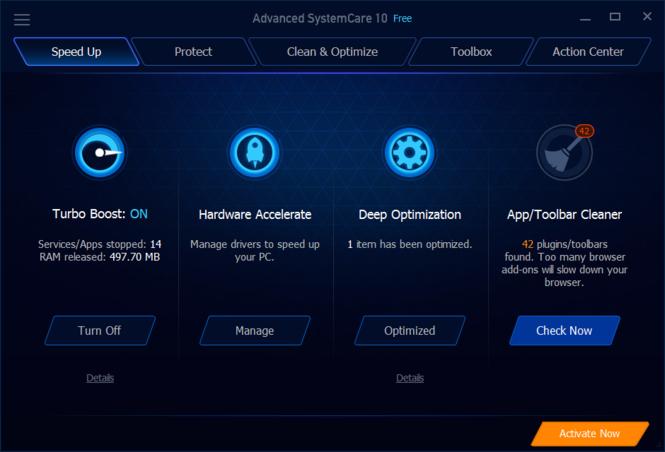 Advanced SystemCare Screenshot 6