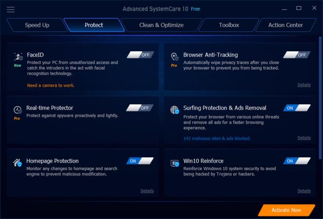 Advanced SystemCare Screenshot 7