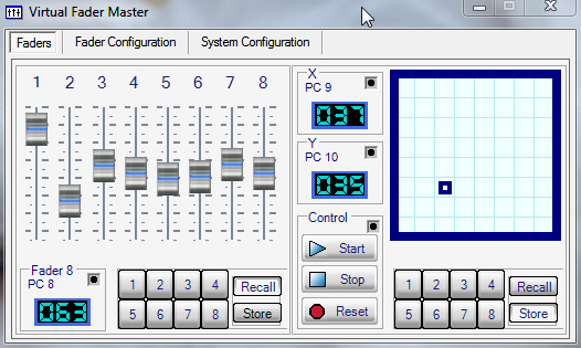 Virtual Fader Master Screenshot