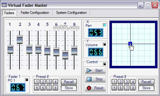 Virtual Fader Master Screenshot 3