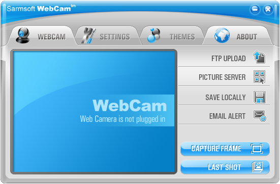 SarmSoft WebCam Screenshot