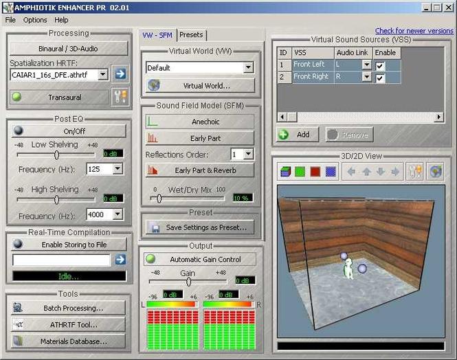 AMPHIOTIK ENHANCER Screenshot