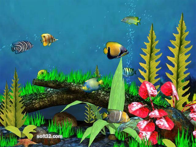 Astro Gemini Software Fish Aquarium 3D Screensaver Screenshot 2