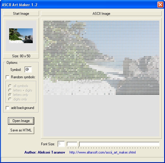 ASCII Art Maker Screenshot 2