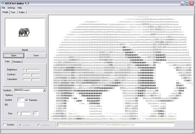 ASCII Art Maker Screenshot 1