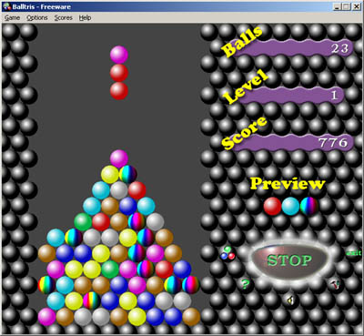 Balltris Screenshot