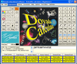 Dovada student calculator Screenshot